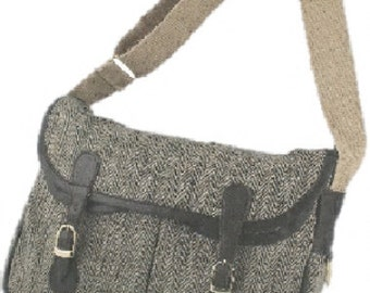 Jute Satchel shoulder bag