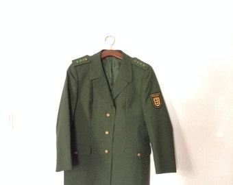 SALE Vintage Police Blazer from Austria