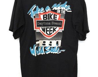 Vintage 1990 Daytona Bike Week T-Shirt.