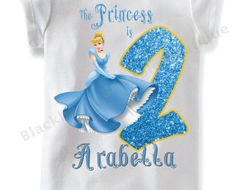 Cinderella Birthday Shirt