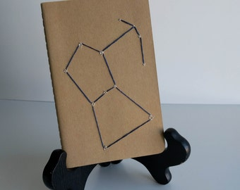 Embroidered Constellation Moleskine Notebook - Single