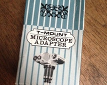 VintageT Mount Microscope Adapter. Boxed and Original Item.
