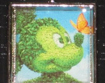 Mickey Topiary charm.