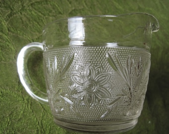 Sandwich Glass Creamer, Hocking - Item #1134