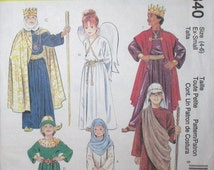 McCall's Costumes pattern, new, boy's king costume, size large  12 - 14