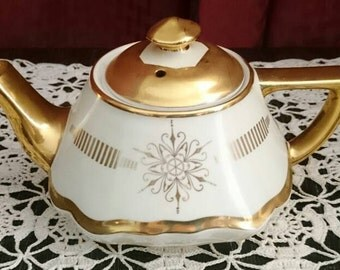 Hall Baltimore 6-Cup Teapot, No. 0178, Art Deco Teapot, Mid Century Teapot, Collectible Teapot