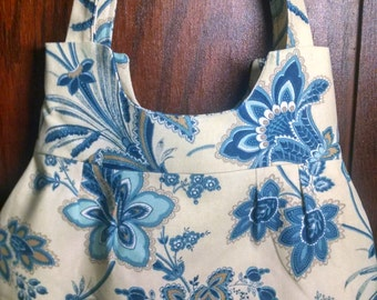 Handbag, All occasion bag, Shoulder bag, Purse, Everyday purse, Flower Purse, Flower Handbag