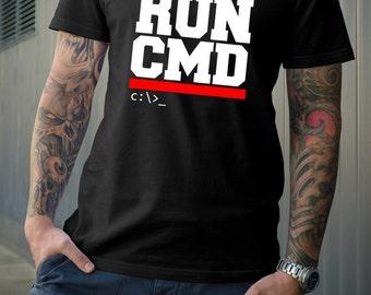 Run CMD Tshirt  Run DMC Inspired tshirt