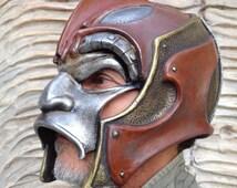 Destiny Cosplay Hunter,Helmet Mask,Military Armor,Predator Mask,Cosplay Helmet,Larp Armor,Demon Helmet,Armor Props,Paintball Helmet Mask