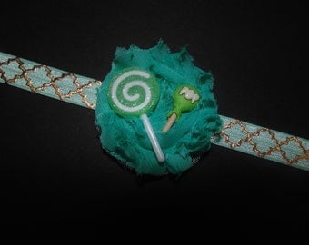 Lollipop Flower Headband