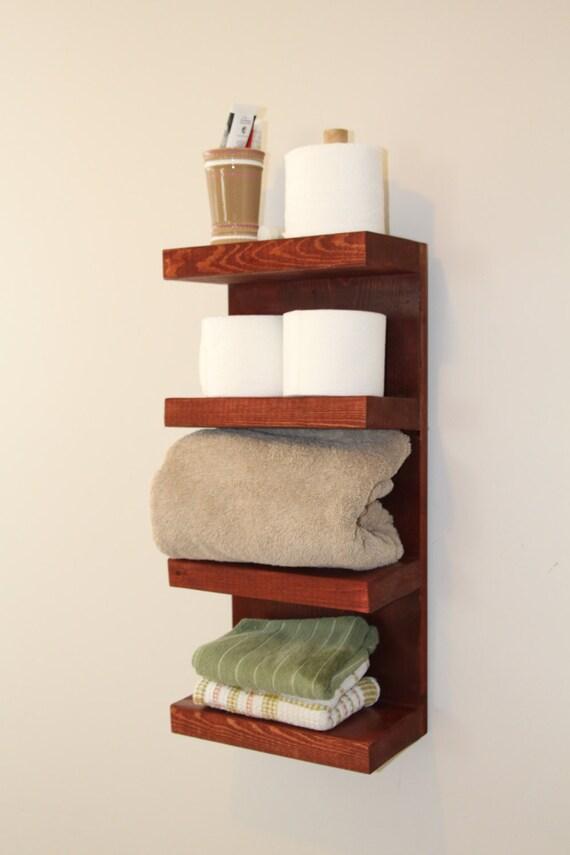 4 Tier Bath Storage Bathroom Towel Rack Bath Storage