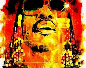 Stevie Wonder Painting 11