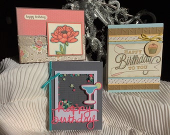 Birthday Assortment - set of 6 cards