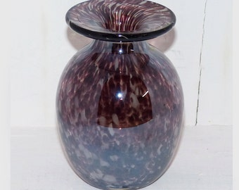 Amethyst Glass Vase - 253