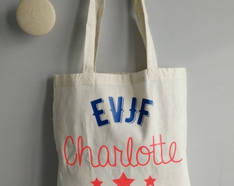 Tote Bag customizable burial life of girl / bag EVJF