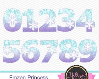 Frozen clipart | Etsy