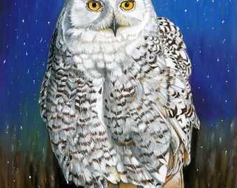 The Enchanting Mrs Snow - Snowy Owl