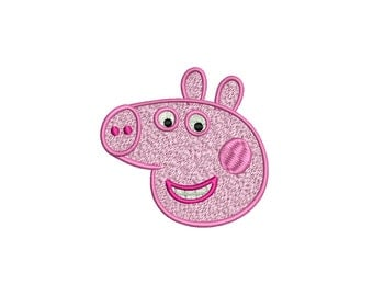 PEPPA PIG - machine embroidery design - Instant Download