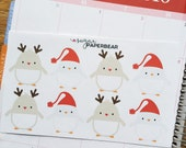 Penguin boxes stickers ( #1 )
