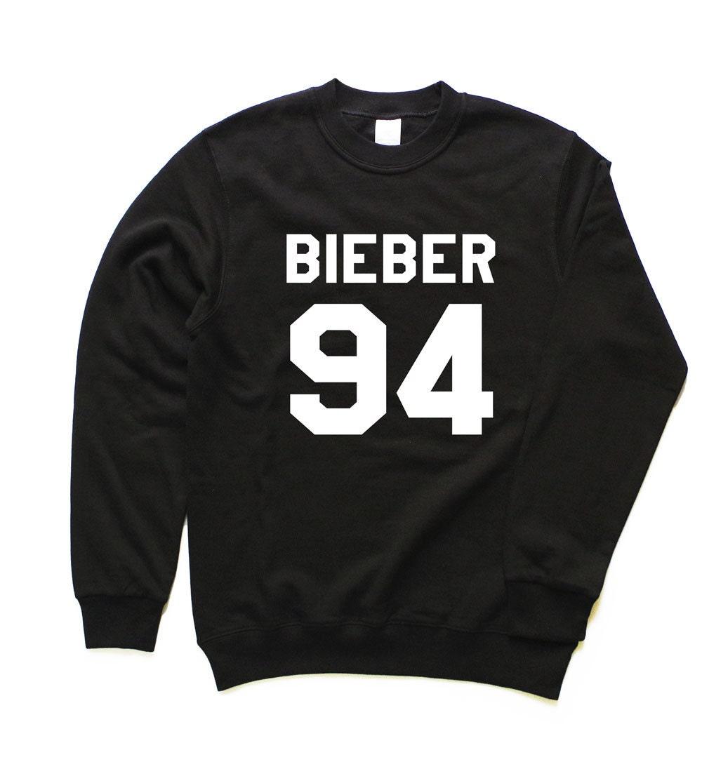 justin bieber sweatshirt bieber 94 sweatshirt justin by apeos. Black Bedroom Furniture Sets. Home Design Ideas