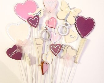 Miniature Selection of Wedding Pops - Large Group, Centerpiece/Bouquet Decorations! Any colour, made to order!