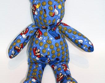 Super Mario Vintage Style Teddy Bear