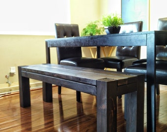 Solid Wood Dining Bench