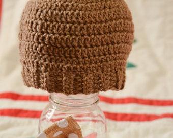 Crochet Teddy Bear Hat