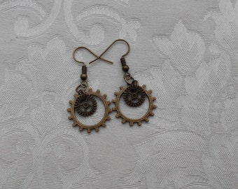 "Earrings ""Steampunk"""