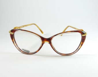 Missoni Mod: M197 1980s, Vintage Rare Cat Eye Tortoise Shell Frames, Missoni Vintage eyeglasses from the 80′s made in Italy
