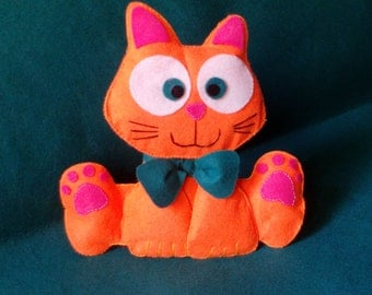 Peluche gato / cat plush / handmade / customizable