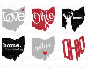 Ohio Svg Etsy