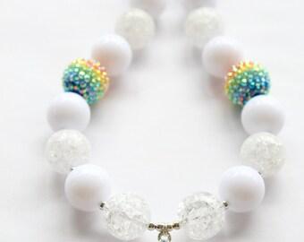 Princess Crown Bubblegum Necklace