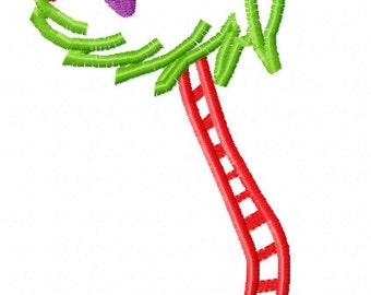 Christmas Truffle Tree Applique Embroidery Design