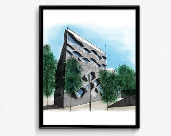 Architecture sketch, Printable architecture, Coventry university, Modern architecture, Architecture art, Building Architecture, Sketch art