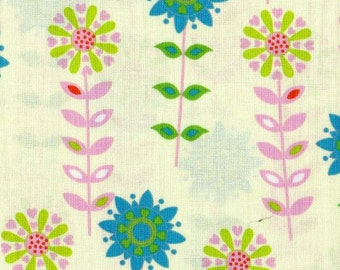 Forest Friends -1 yd -  Camelot Cottons -  pale green