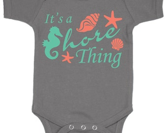 It's a Shore Thing Baby Bodysuit