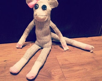 HANDMADE Sock Monkey