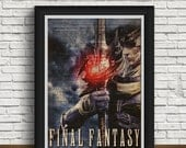 Final Fantasy   Final Fantasy game   Final Fantasy print   Final Fantasy wedding   newspaper design   home interior   Final Fantasy art featured image