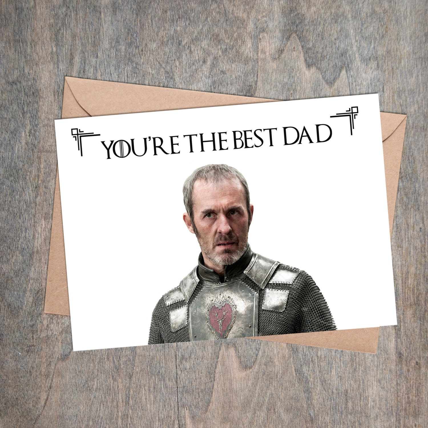 Game of Thrones Card Printable Fathers Day Card Game of