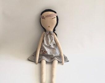 ButterFly Dress Rag Doll
