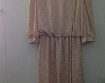 Lorac Original Lady Carol Gold Dress