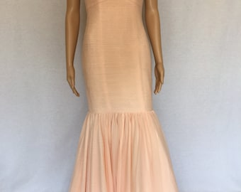 Pearl Pink Evening Gown