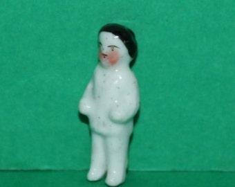 Vintage Dolls House Porcelain Frozen Charlotte Doll