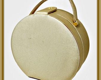 Vintage Box Purse, Vintage Gold Box Purse, Vintage Handbag, Vintage Gold Handbag, Vintage Pocketbook, Vintage Gold Pocketbook, Vintage Purse