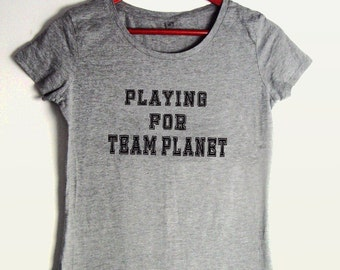 Playing For Team Planet. Responsibly sourced materials