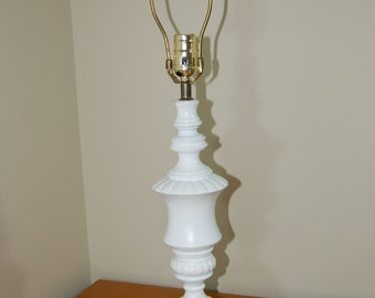 White Lamp Base