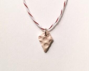 Polymer clay charm