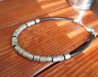 Leather Rope Necklace