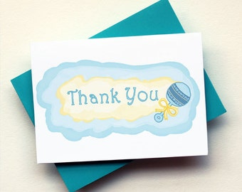 Thank You - Baby Rattle